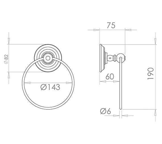 Technical drawing QS-V16503 / ZXBWM004100