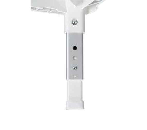 Additional image of Croydex White 420mm Adjustable Shower Stool