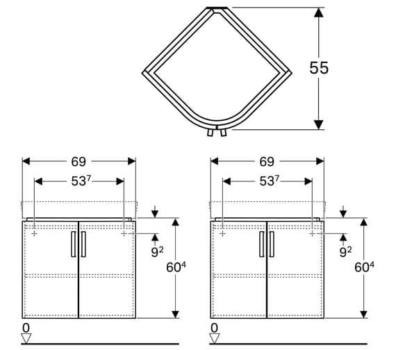 Technical drawing QS-V10269 / 501.486.00.1