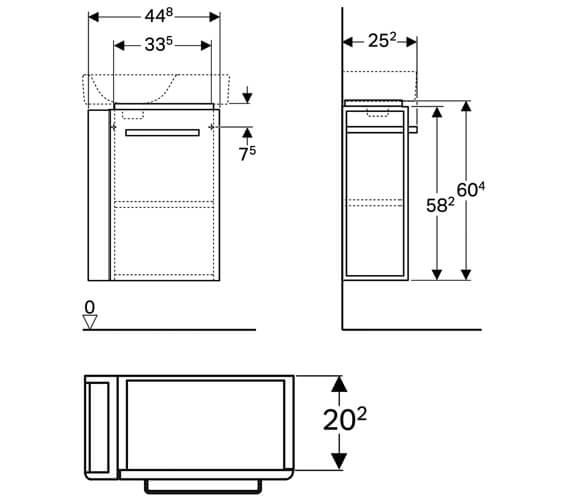 Technical drawing QS-V10272 / 501.496.00.1