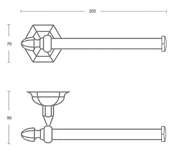 Technical drawing QS-V104113 / XA13210100