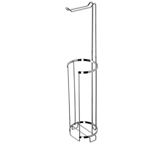 Croydex Chrome Free Standing Toilet Roll Holder