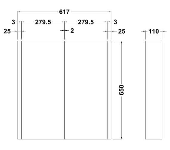 Technical drawing QS-V73285 / NVM113