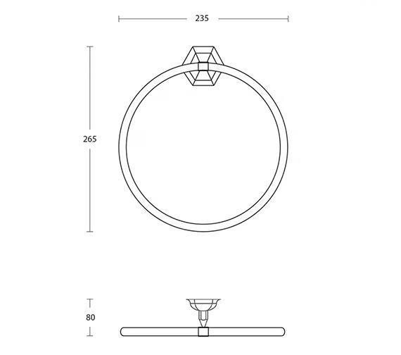 Technical drawing QS-V104112 / XA13110100