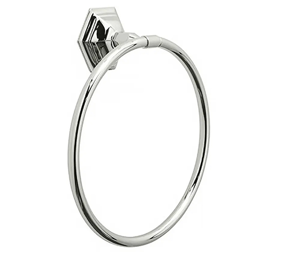 Additional image of Imperial Astoria Towel Ring W 235 x H 265mm