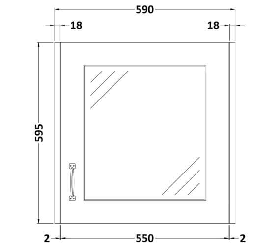 Technical drawing QS-V80343 / OLF113