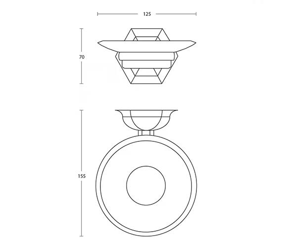 Technical drawing QS-V104116 / XA13610100
