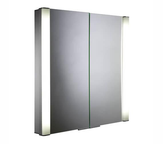 Roper Rhodes Vertex Illuminated Double Door Mirror Cabinet