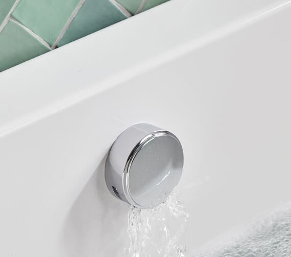 Roper Rhodes Traditional Smartflow Bath Filler With Push Button Waste