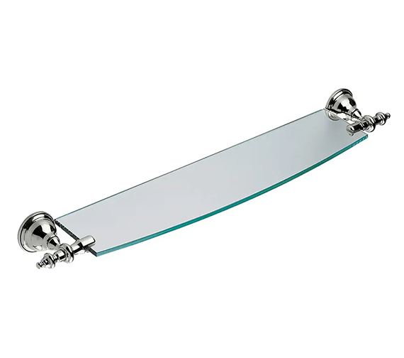 Additional image of Imperial Avignon Wall Mounted Glass Shelf 750mm Wide