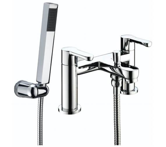 Bristan Nero Bath Shower Mixer Tap With Handset
