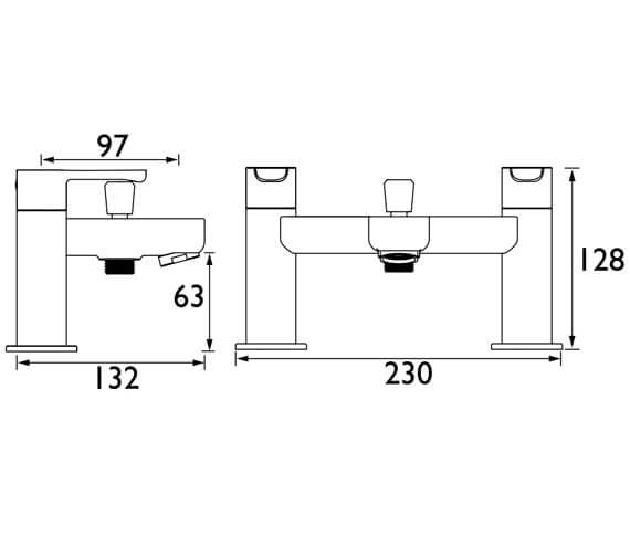 Technical drawing QS-V104605 / NR BSM E6 C