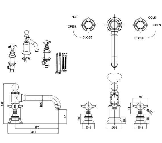 Technical drawing QS-V105899 / ARC2015CHR