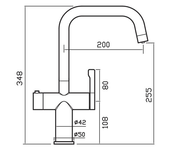 Technical drawing QS-V104640 / MAE3KCP
