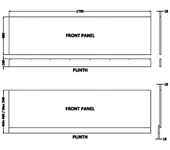 Technical drawing QS-V100422 / MOF177