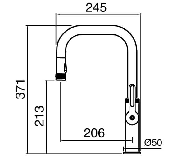 Technical drawing QS-V104645 / PIL40CP