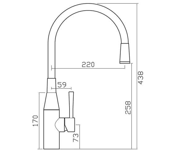 Technical drawing QS-V104643 / MO2CP