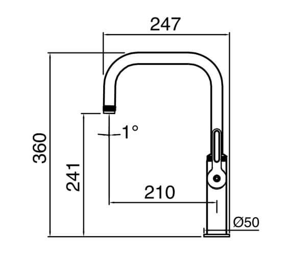 Technical drawing QS-V104644 / PIL20CP