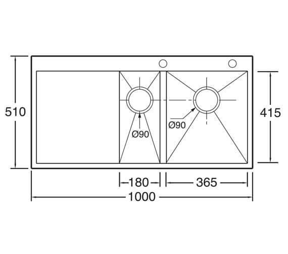 Technical drawing QS-V104648 / ZE150L