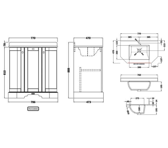 Technical drawing QS-V100427 / LOF218