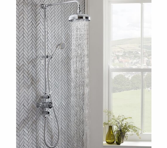 Roper Rhodes Cranborne Exposed Thermostatic Shower Set
