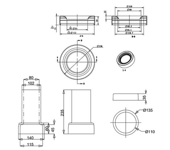 Technical drawing QS-V105991 / C29