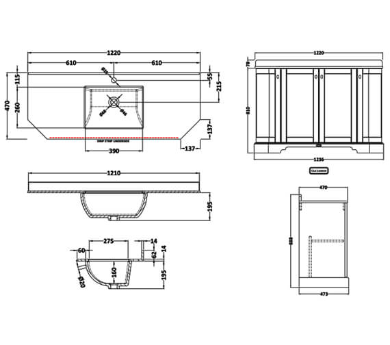 Technical drawing QS-V100428 / LOF283
