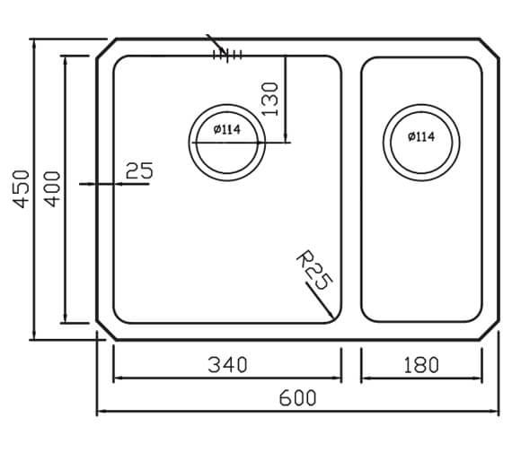 Technical drawing QS-V104660 / SA60L