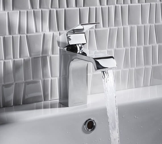 Alternate image of Roper Rhodes Hydra Single Lever Basin Mixer Tap With Click Waste