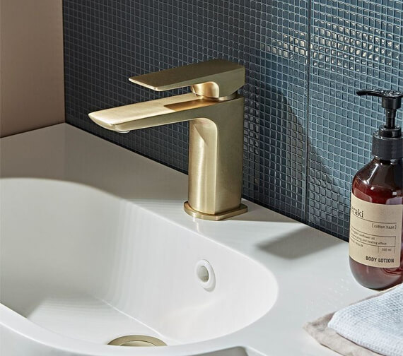 Alternate image of Roper Rhodes Elate Single Lever Basin Mixer Tap With Click Waste