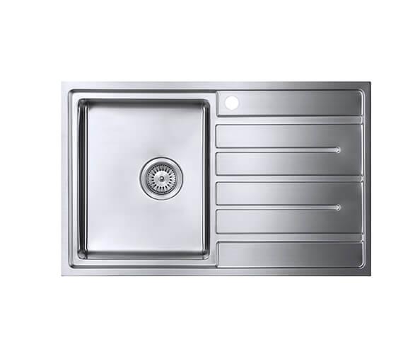 1810 Company Forza Uno Single Bowl Large Inset Kitchen Sink