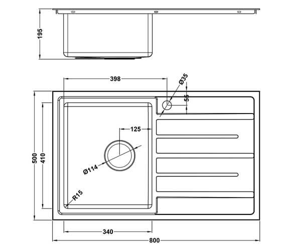 Technical drawing QS-V101459 / FU/80/I/S/BBL/401