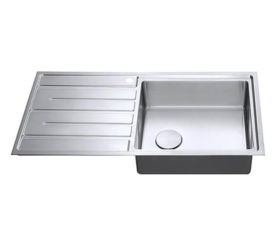 Alternate image of 1810 Company Forza Uno Single Bowl Large Inset Kitchen Sink