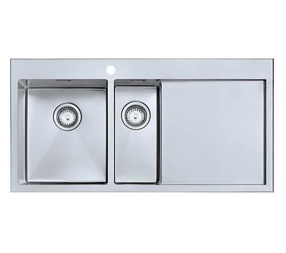 1810 Company Razor Duo 10 6 I-F BBR 1.5 Bowl Kitchen Sink