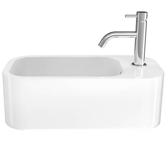 Additional image of Crosswater Popolo 480mm x 250mm Cloakroom Basin