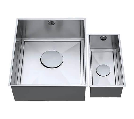 1810 Company Axix Uno SET B 355U And 150U Short Half Bowl Undermount Kitchen Sink
