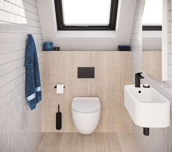 Alternate image of Crosswater Popolo 480mm x 250mm Cloakroom Basin