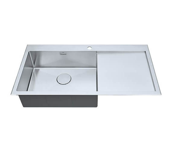 Alternate image of 1810 Company Razor Uno 10 5 I-F BBL Single Bowl Sink