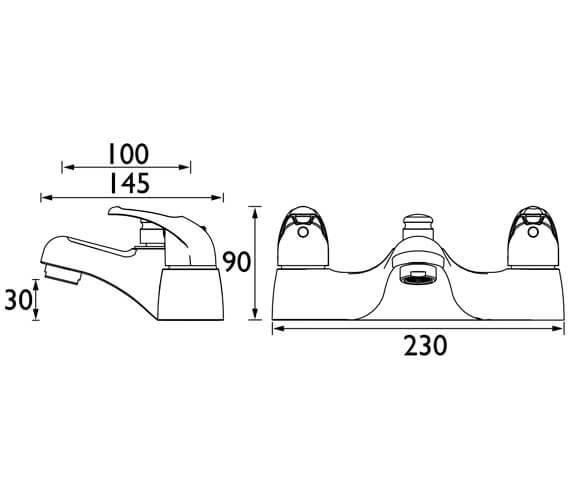 Technical drawing QS-V104610 / J BSM E6 C
