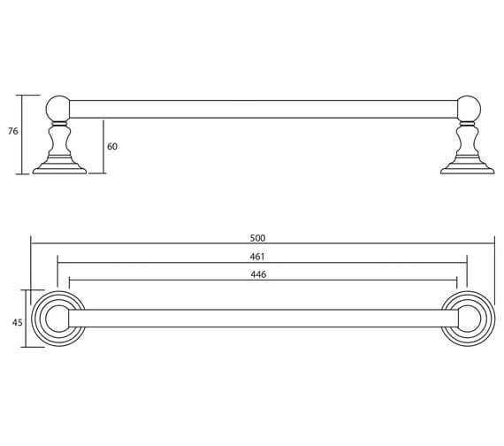 Technical drawing QS-V16454 / XCL0400100