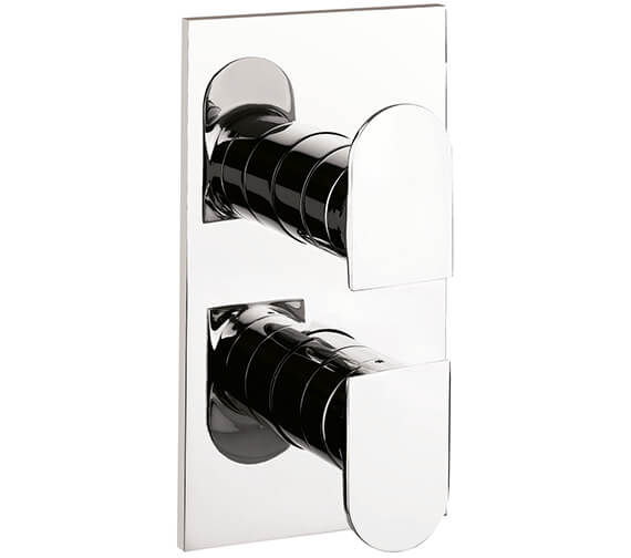 Crosswater Planet Thermostatic Shower Valve With Body