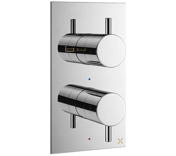Crosswater MPRO Thermostatic Bath Shower Valve With 2 Way Diverter