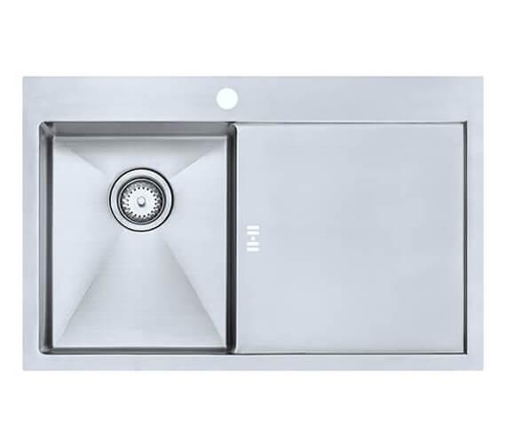 1810 Company Zenuno15 34 I-F Accessible Left Hand Single Bowl Kitchen Sink