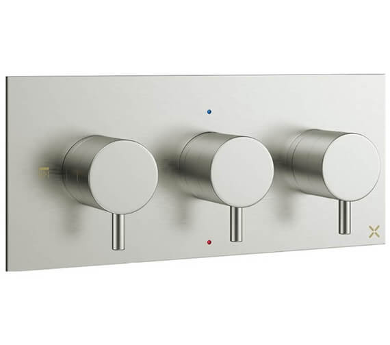 Alternate image of Crosswater MPRO 2 Outlet Thermostatic Shower Valve With 3 Control