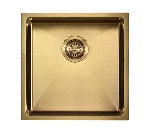 Additional image of 1810 Company Zenuno15 400U PVD 1 Bowl Kitchen Sink