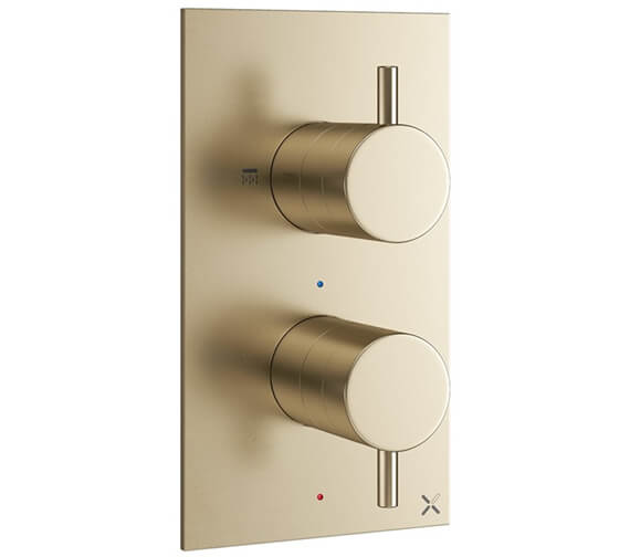 Additional image of Crosswater MPRO Portrait Thermostatic Shower Valve With 2 Way Diverter