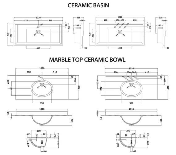 Technical drawing QS-V80378 / YOR103