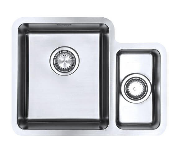 1810 Company Luxsoplusduo25 340-160U 1.5 Bowl Left Handed Kitchen Sink
