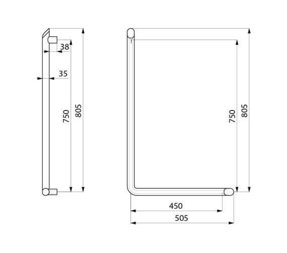 Technical drawing QS-V106008 / 511970C