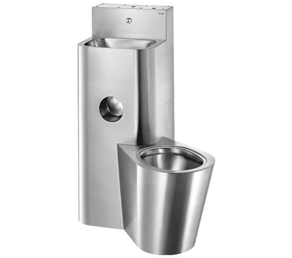 Delabie Kompact Washbasin And Floor-Standing WC Combination 1000mm